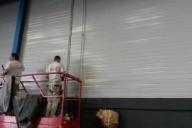 Binnen-schilderwerk – Bedrijfshal Aalsmeer