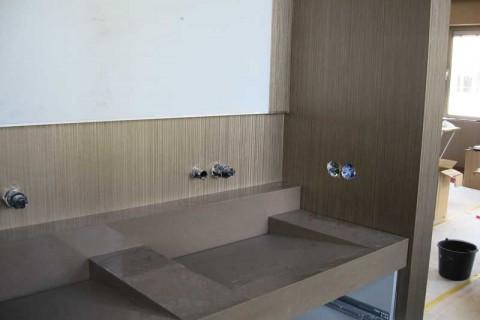 Behangen – Badkamer Amstelveen