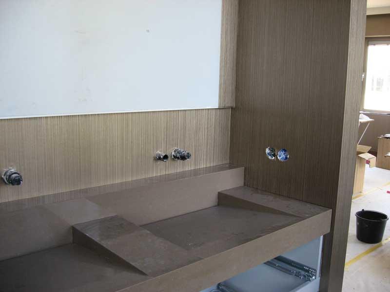 Behang Voor Badkamer : Behangen badkamer amstelveen schildersbedrijf welling & zn