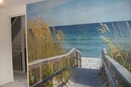 Fotobehang in slaapkamer – Appartement in Amstelveen